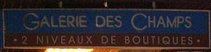 Galerie des Champs